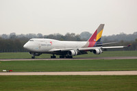 Boeing 747-48EM (HL7415) Asiana Airlines Cargo