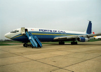 Boeing 707 (EL-AKC) Ports of Call